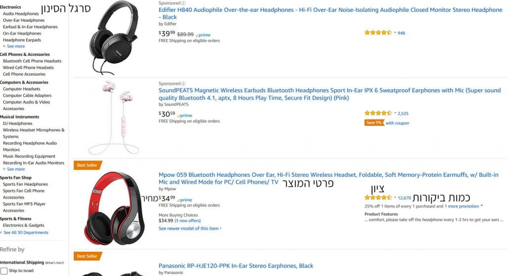 amazon products search